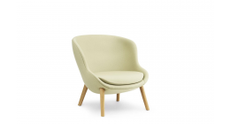Hyg Lounge Chair Low Oak - Normann Copenhagen